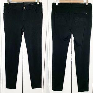 DKNY Jeans 8 Black Cotton Blends Stretch Pants